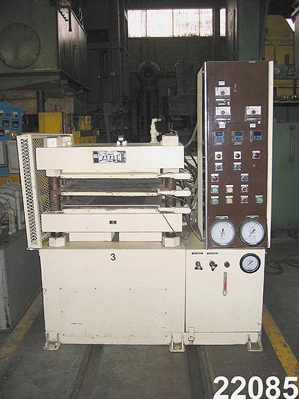 For Sale: USED 100 TON WABASH HYDRAULIC LAMINATING PRESS from kempler.com