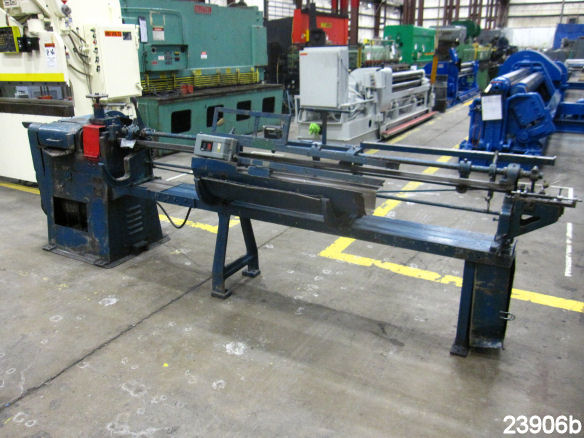 Used 1 4 Quot Lewis Wire Straightener And Cutting Machine