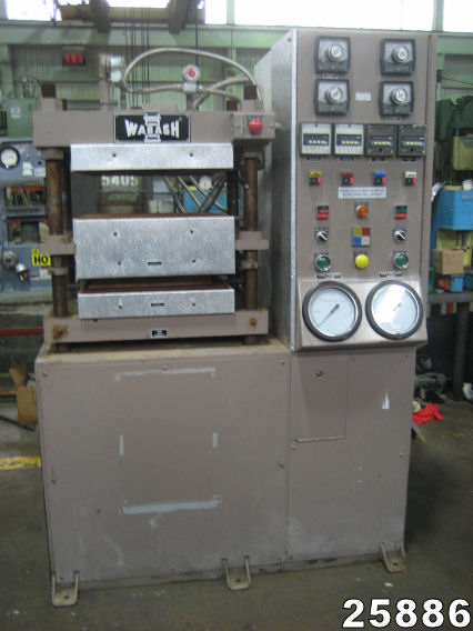 For Sale: USED 50 TON WABASH MOLDING & LAMINATING PRESS from Kempler.com