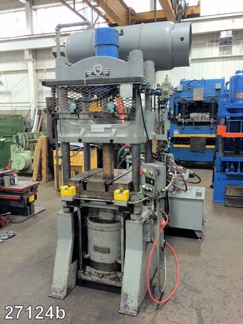 USED 100 TON RODGERS HYDRAULIC PRESS | Kempler Industries
