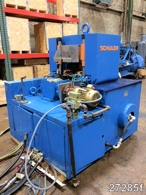 USED 350 TON SCHULER COINING PRESS   Kempler Industries