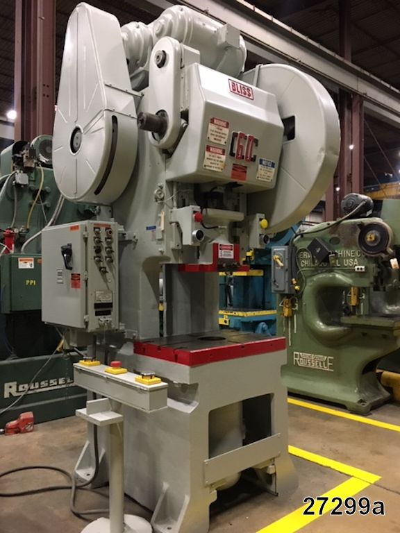 USED 60 TON BLISS O B I  PUNCH PRESS   Kempler Industries