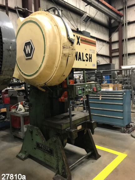 USED 65 TON WALSH O B I  PUNCH PRESS | Kempler Industries