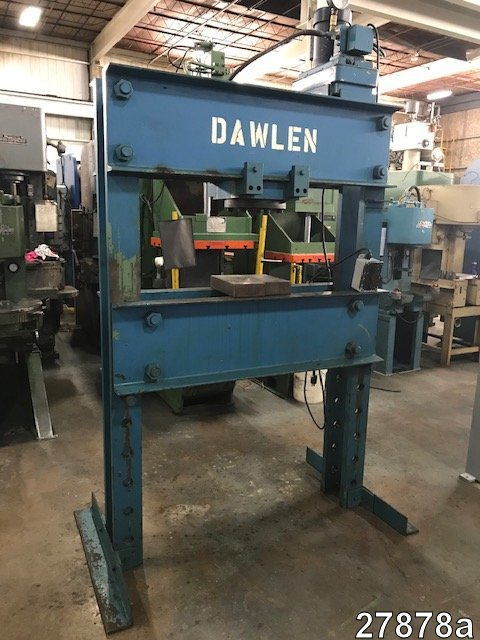 Hydraulic Shop Press | Shop & H Frame Press for Sale | Kempler