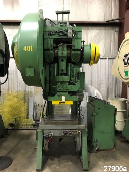 For Sale: USED 60 TON MINSTER #6 O.B.I. PUNCH PRESS from kempler.com