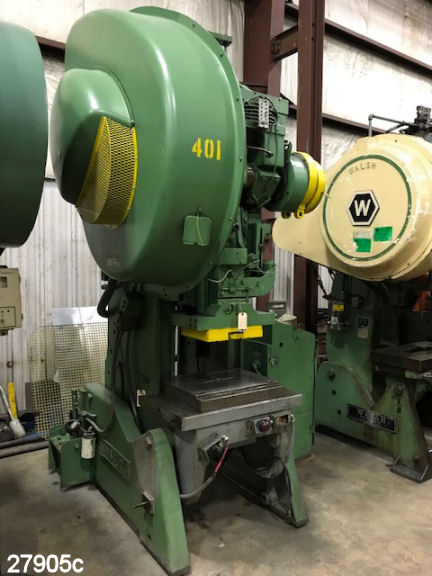 USED 60 TON MINSTER 6 O B I PUNCH PRESS Kempler Industries