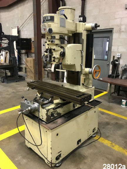 Bridgeport Mill For Sale >> Bridgeport Mill For Sale Used Vertical Milling Machine Kempler