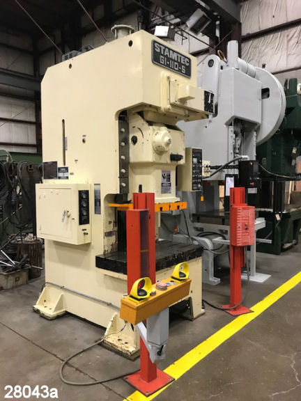 Used 110 Ton Stamtec O B I  Punch Press   Kempler Industries