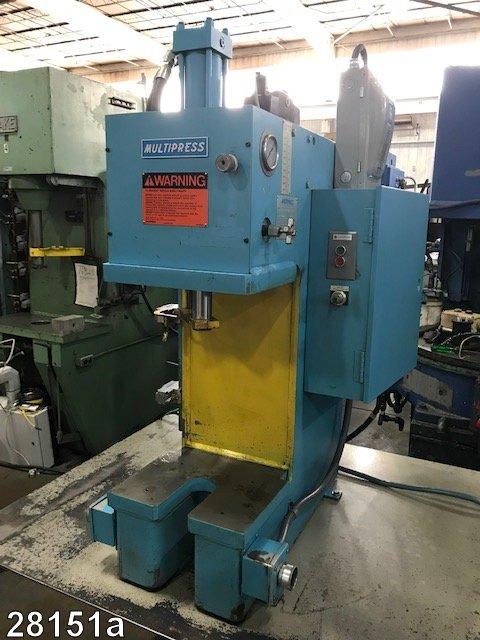 Used 6 Ton Denison Hydraulic C Frame Press   Kempler Industries