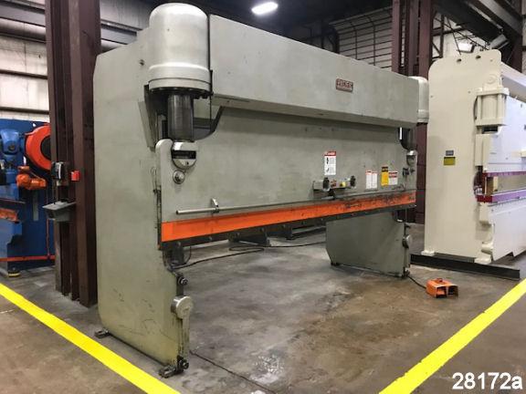 "Pacific Hydraulic Press Brake 225 Ton J225-14, 14' OA, 12'6"" BH, #28172 Kempler.com"