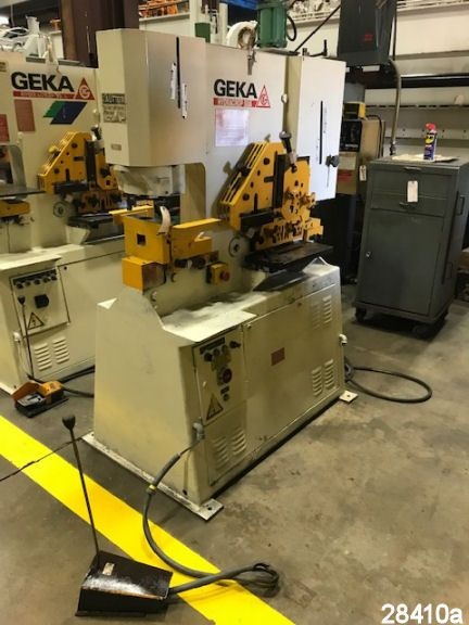 For Sale: Used 55 Ton Geka Hydraulic Ironworker by Kempler.com