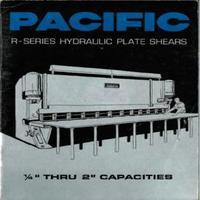 Pacific R-Series Hydraulic Plate Shears Catalog.pdf