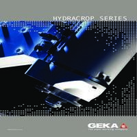 Geka Hydracrop Ironoworker Accessories Catalog for Hydracrop Models, 55, 80, 110, 165, 220.pdf