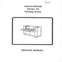 Samco-Strong Series 75 Cutting Press Manual.pdf