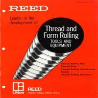 Reed Thread & Form Rolling Tools & Equipment Catalog.pdf