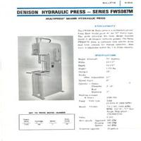 FWS087M Series 8 Ton Denison Multipress.pdf