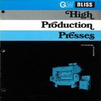 Bliss High Production Presses HP2-25, HP2-60, HP2-100, HP2-150, HP2-200, HP2-200, HP2-250, HP2-300, HP2-400, Catalog 600_0.pdf