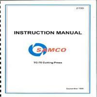 Samco TC-75 Cutting Press Instruction Manual.pdf
