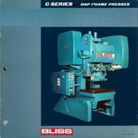 Bliss C Series Gap Frame Presses Bliss C-22, C-35, C-45, C-60, C-75, C-110, Catalog 3B.pdf