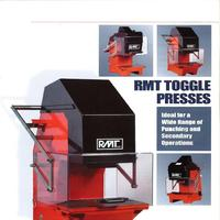 RMT Pneumatic Toggle Press Catalog; Manual 3A, 5B, 7B, 6C, 8C, 10C, 12C, 18D, 20D, 24D.pdf