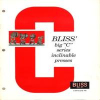 Bliss Big C Series Inclinable Presses C-22 OBI, C-35 Bliss OBI, C-45 Bliss, C-60 Bliss Catalog 2G.pdf