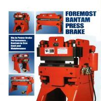 Foremost Bantam Pneumatic Press Brake Catalog; Models B212, B412, B512, B224, B424, B624, B824.pdf