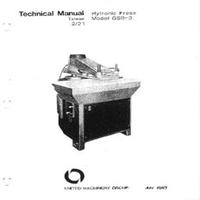 USM Hytronic Press Model GSB-3 Technical Manual_0.pdf